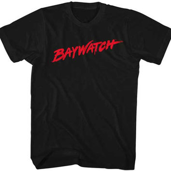 Baywatch Black Tee Shirt
