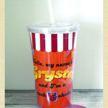 Custom & Personalized Candy Crush 16 oz Double Wall Acrylic Tumbler