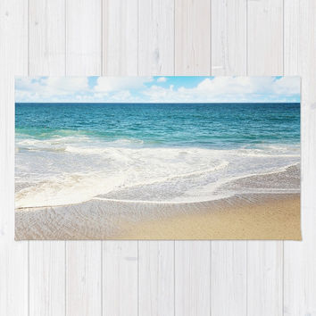 beach vibes Rug by sylviacookphotography