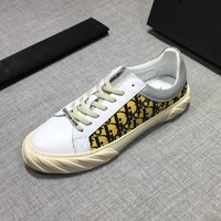 Dior Women Men Fashion Print Sport Sneakers Shoes