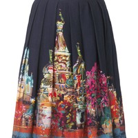 Phase Eight Moscow print skirt Black - House of Fraser