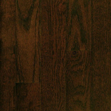 "Mullican Quail Hollow 3"" Oak Chocolate Solid Hardwood"