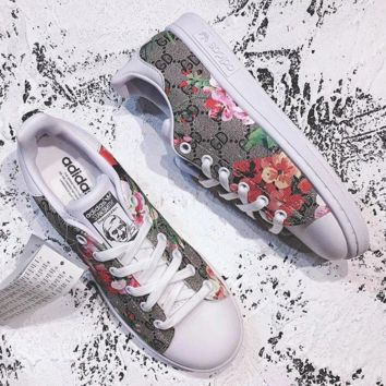 Gucci x Adidas Women Stan Smith Sneakers