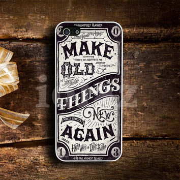 Make Old Things New Again Design mobile Phone case