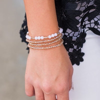 All That Shines Bracelet, Pink