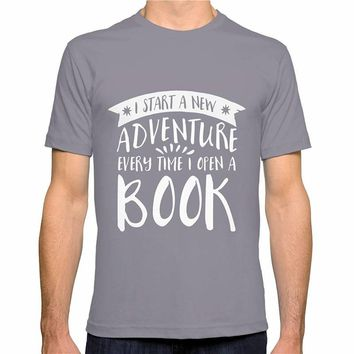 I Start A New Adventure Every Time I Open A Book Reader T-Shirts
