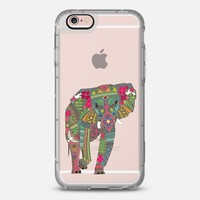 painted elephant transparent  iPhone 6s case by Sharon Turner | Casetify