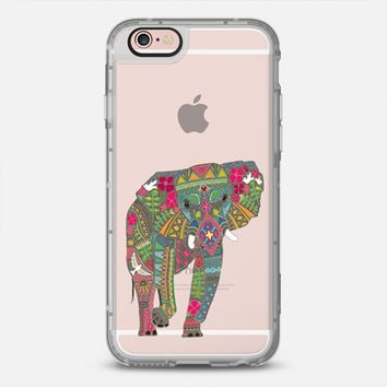 painted elephant transparent  iPhone 6s case by Sharon Turner   Casetify