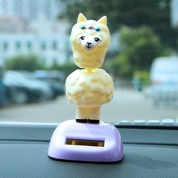 Ornaments Chsky Car Decoration Car Shaking Head Toy Lucky Cat Pvc Car Dashboard Decoration Cute Auto Accessories Fashion Gifts 4 Inches Fast Color Interior Accessories