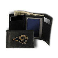 St. Louis Rams NFL Embroidered Trifold Wallet