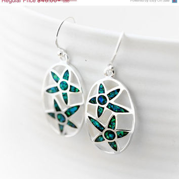 ON SALE Opal Earrings,Silver Earrings,Gemstone Earrings,Agate Earrings,Statement Earrings,opal,stone,agate,gemstone,stud,earring,silver,Star