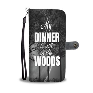 Custom Designed Hunting Wallet Phone Case