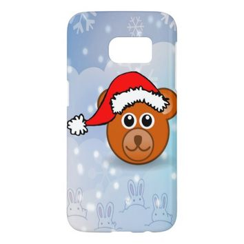 Christmas Bear Samsung Galaxy S7 Case