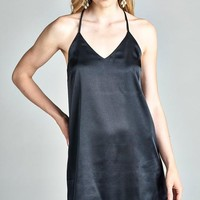 Bottles Up Champagne Slip Dress