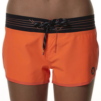SURFSTITCH - WOMENS - SHORTS - BOARDSHORTS - HURLEY PHANTOM FUSE AUSTRALIAN PRO BOARDSHORT - NEON ORANGE