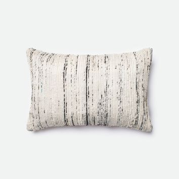 Loloi Silver / Multi Decorative Throw Pillow (P0242)