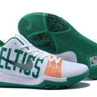 Nike Kyrie Irving 3 White/Green Sport Shoes US7-12