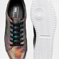 ASOS Sneakers in Iridescent