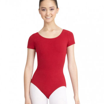 Adult Short Sleeve Leotard (Garnet) CC400