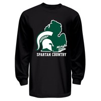 Michigan State Spartans College & Country Tee