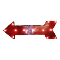 Large Arrow Symbol Marquee Sign Light