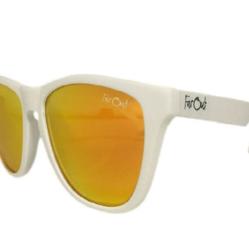 White Polarized Orange Lens