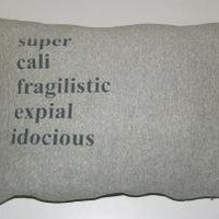 Mary Poppins Pillow by dinwiddieshome on Etsy