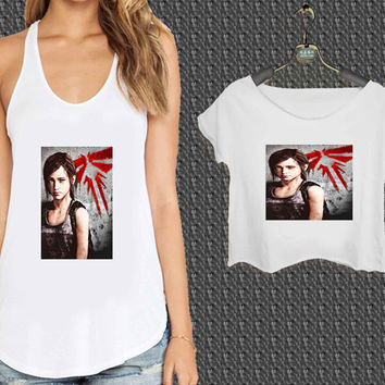 the last of us ellie disney For Woman Tank Top , Man Tank Top / Crop Shirt, Sexy Shirt,Cropped Shirt,Crop Tshirt Women,Crop Shirt Women S, M, L, XL, 2XL*NP*