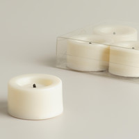 Flameless LED Tealight Candles, 4-Pack - World Market
