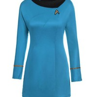 ONETOW TPRPCO star trek female uniform Dress cosplay costume C40134143