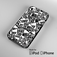Logo Vans Off The Wall Shoes college A1331 iPhone 4 4S 5 5S 5C 6, iPod Touch 4 5 Cases