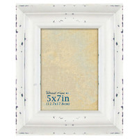 5 X 7-in Distressed Whitewash Tabletop Frame