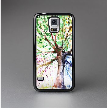 The WaterColor Vivid Tree Skin-Sert Case for the Samsung Galaxy S5