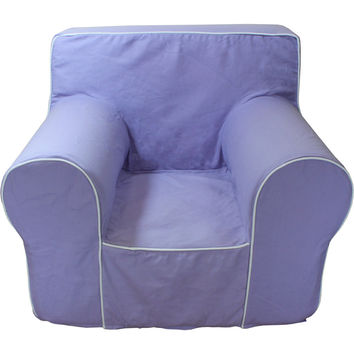 Lavender Chair Cover for Foam Childrens Chair