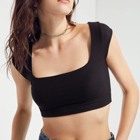 Kimchi Blue Square-Neck Cropped Top | Urban Outfitters