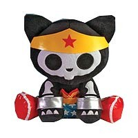 DC Heroes Skelanimals Wonder Woman Kit the Cat 12-Inch Plush - Toynami - Wonder Woman - Plush at Entertainment Earth