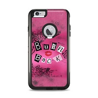 The Burn Book Pink Apple iPhone 6 Plus Otterbox Commuter Case Skin Set