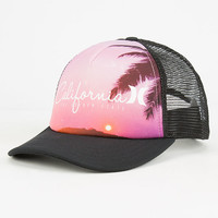 Hurley Destination Womens Trucker Hat Black One Size For Women 26532010001