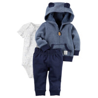 Carter's 3-pc. Stripe Pant Set Baby Boys - JCPenney
