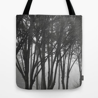 Foggy Days  Tote Bag by KCavender Designs