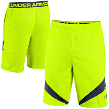 Under Armour NFL Combine Authentic Training Shorts - Yellow