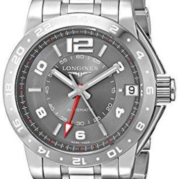 Longines Men's L36694067 Admiral Analog Display Swiss Automatic Silver Watch