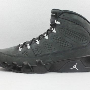 [Free Shipping ] Nike Air Jordan 9 Retro IX Anthracite White Black 302370-013  Basketball Sneaker