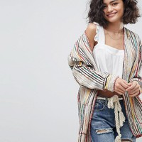 Intropia Multi Woven Jacket at asos.com