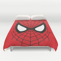 Hello Duvet Cover by Deadly Designer
