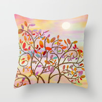 Autumn Throw Pillow by Tjc555