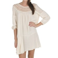 Women's Long Sleeve Full Swing Dress