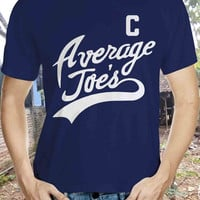 Average Joes Captain uniform costume dodgeball funny hip retro movie globe gym new - Mens T-shirt - short sleeve apparel - IIT79
