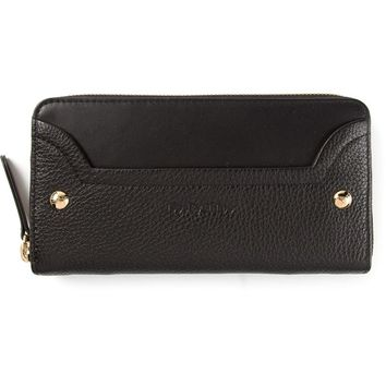 See By Chloé pebble textured studded wallet