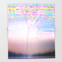 Displaced Throw Blanket by Dood_L